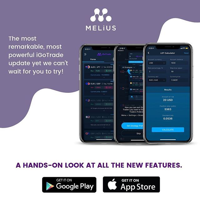 Heads Up Traders The Newest Version Of The Igotrade App Is Here