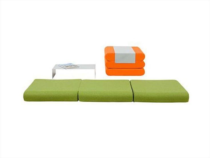 Pouf letto imbottito BINGO by Softline | design Michiel van der Kley