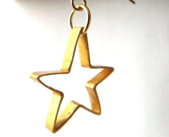 Boucles d'oreilles boucles d'oreilles étoiles par ElinaQuills