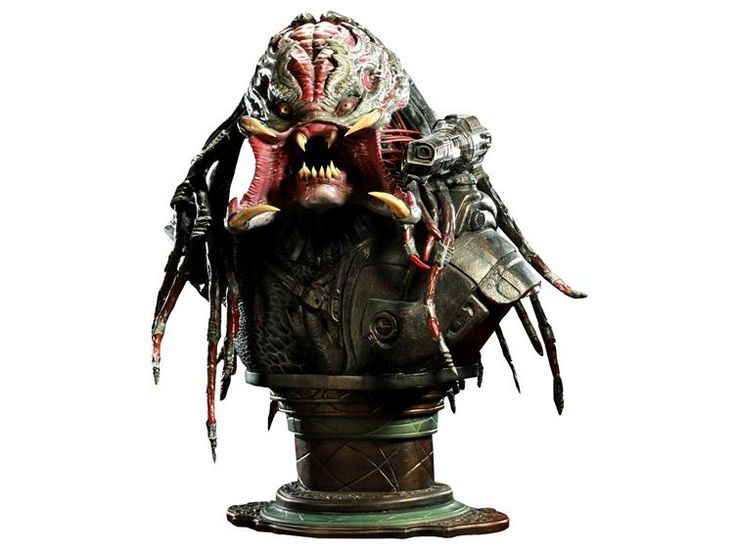 The Berserker Predator Life-Size Bust - Predators (2010 Movie) Statues & Busts