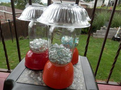 DIY Solar Outdoor Table Lamp