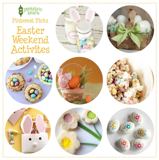 From the Peekaboo Beans Blog... round up of our favorite Easter activities!