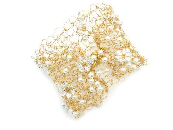 Bracciale largo oro braccialetto d'oro tono di myDurangoRose