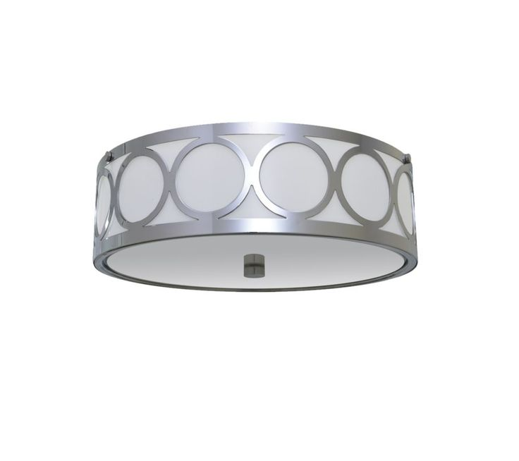 11-7/8 Inches Flush Mount, Chrome Finish
