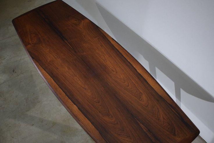 Danish vintage rosewood coffee table, design by Ingvard Jensen, made in Denmark