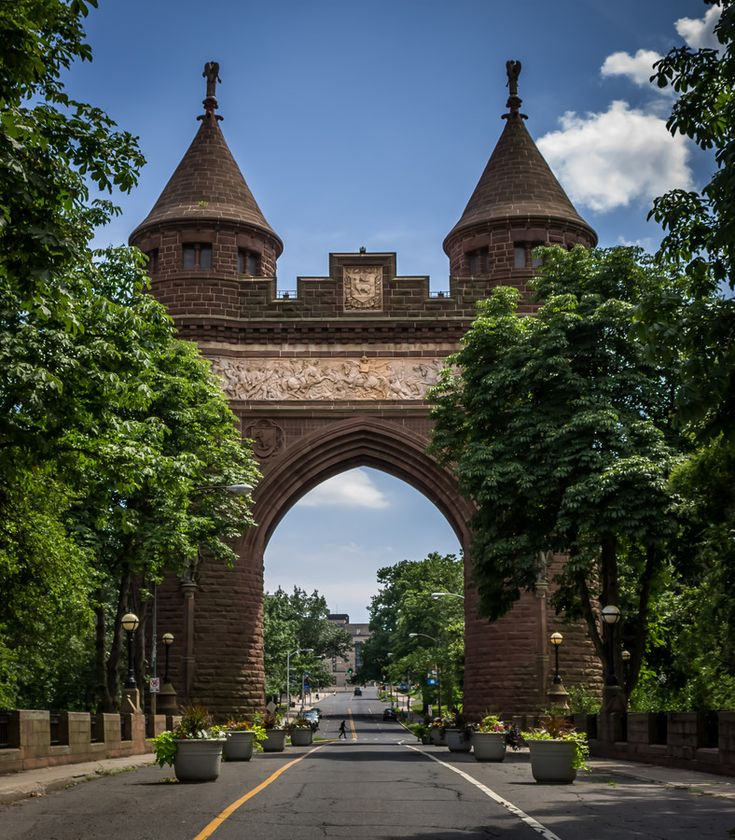 Soldiers and Sailors Memorial Arch, Hartford, Connecticut, USA