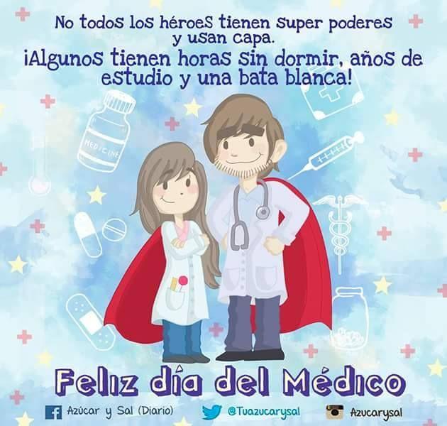 El 3 de diciembre se celebra el día mundial del Médico.