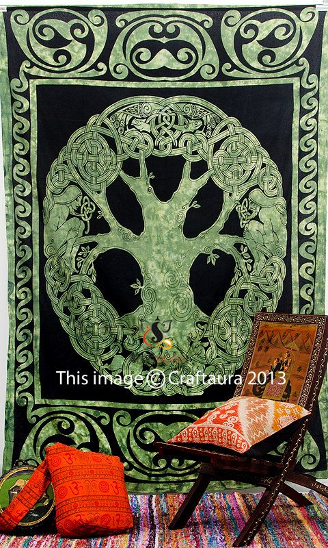 celtic tapestry indian tapestries wall hanging by craftaurahome 1499