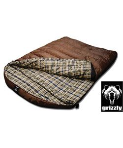 Grizzly Two-person 25-degree Hyperloft-insulation Adult Sleeping Bag