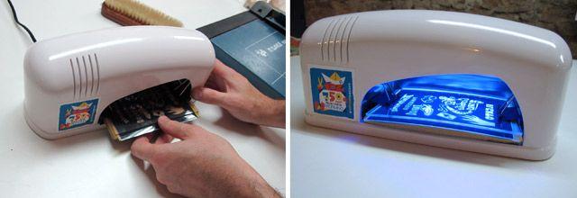 máquina UV para secado de uñas, lámpara UV fotopolímero, UV fotopolímero, UV led, led Uv para insolar fotopolimero