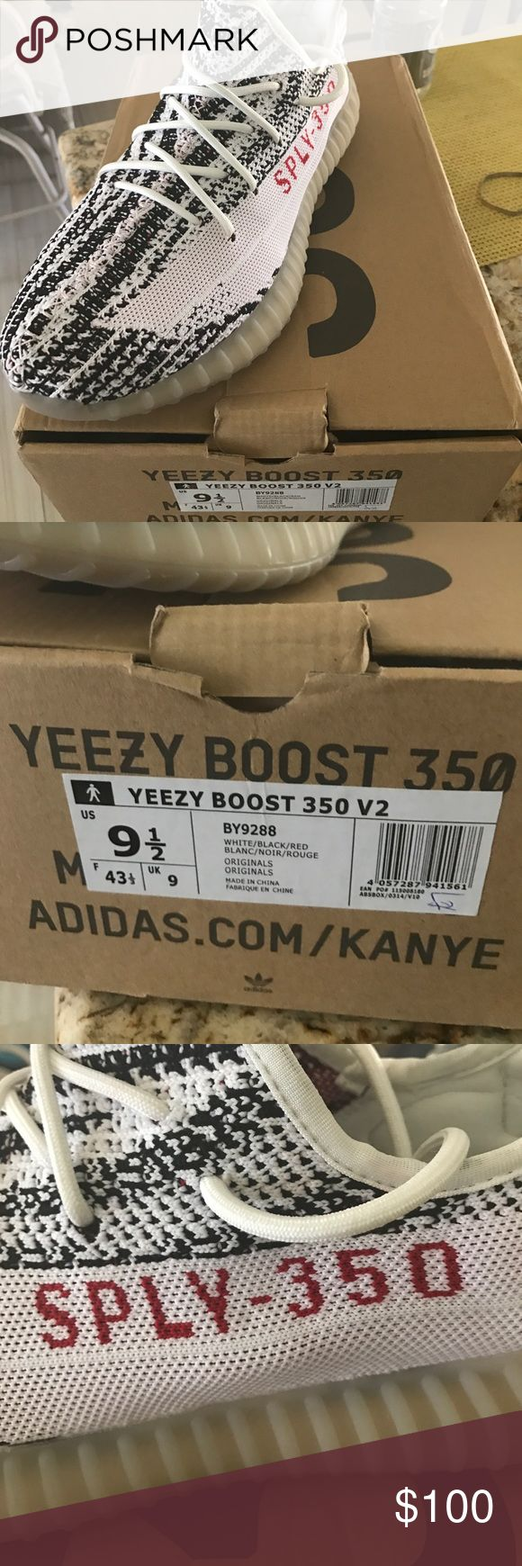 Yeezy Boost 350 vs Zebra UA version Please see the pictures if you have any questions text 6034134332 for a cheaper price Yeezy Shoes Sneakers