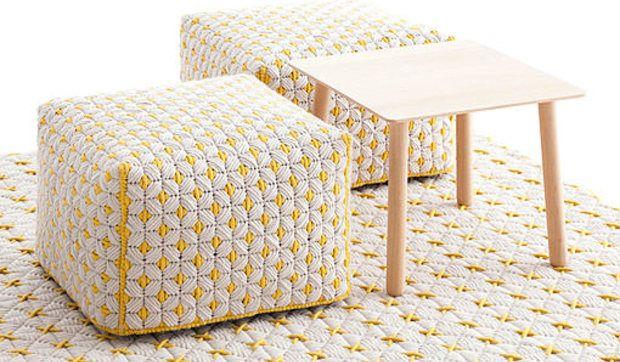 Con alfombras de verano trenzadas a mano, logramos una decoración mucho más cuidada, además de introducir colores que alegren los ambientes.