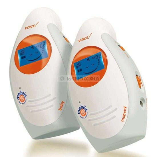 Baby Monitor Mebby Voice 1 Vocale scontato a 69 € invece di 99 €!!  http://www.lachiocciolababy.it/bambino/vocale-2816.htm