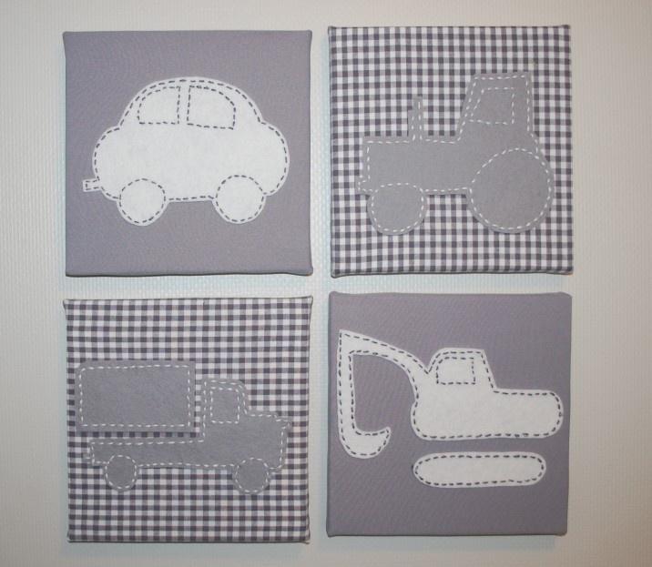 4 luik voertuigen Grijs