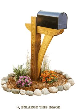 Timber-framed Mailbox