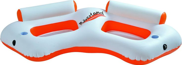 Inflatable Water Sofa Swimming Pool Lounge Float Adults Floating Lake Double #DoesNotApply