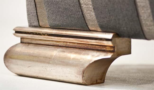 Duresta International Silver Oxide feet.