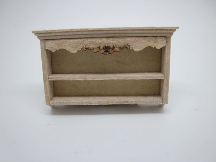 Miniature dollhouse furniture undecorated plat rack half scale - code VMJ 1121s by viliaminiature on Etsy https://www.etsy.com/listing/198819261/miniature-dollhouse-furniture