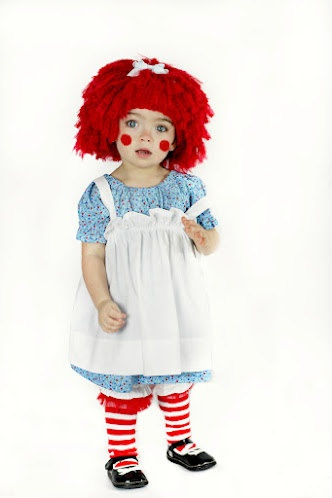 Raggedy Ann Inspired Wig Sizes Newborn3 Years by InTheLoopBowtique, $30.00