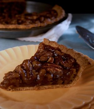 Claims to be the best vegan pecan pie.. I haven't tried them all, but I have made this one twice. IT IS GREAT!!