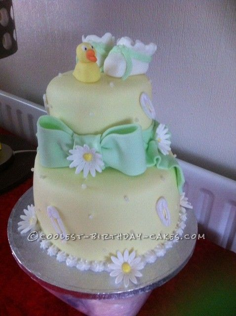 Coolest Baby Shower Cake... This website is the Pinterest of birthday cake ideas