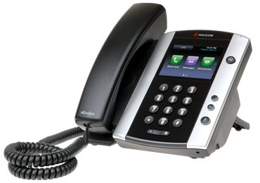 Polycom VVX 500 is a high performance unified communications (UC) solution.