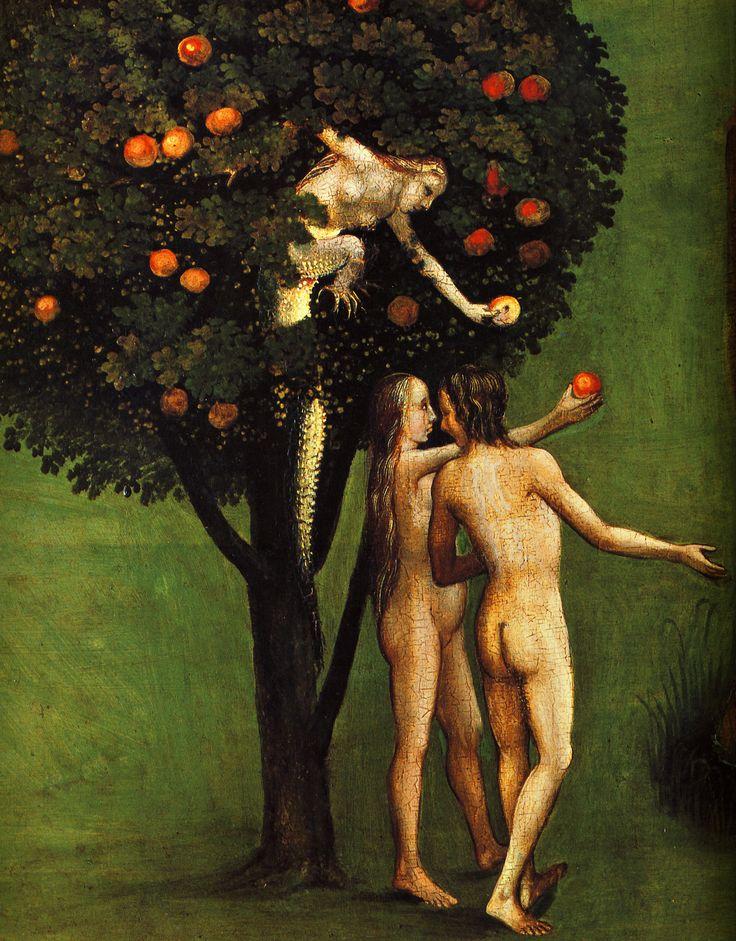 1504-1516 Jérôme Bosch Le Tryptique du Jugement Dernier, détail le Péché Originel