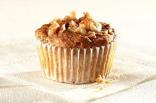 Banana-Nut Graham Muffins - used cinnamon graham crackers