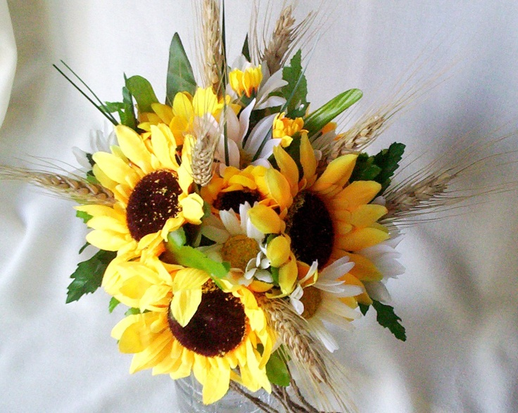 wedding bouquets sunflowers 25 best ideas about sunflower bridal bouquets on 8536