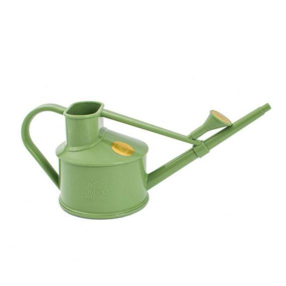 Arrosoir d'intérieur vert Handy 0,7L - 2 nuances - L'échoppe Végétale. Fabriqué en Angleterre en plastique recyclé.