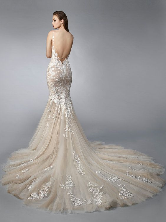 636c3190b10 Die neuen Kollektionen von Enzoani - 2019 werden moderne Designs mit  klassischen Noten kombiniert!  Enzoani  Weddingdress  Wedding  dress
