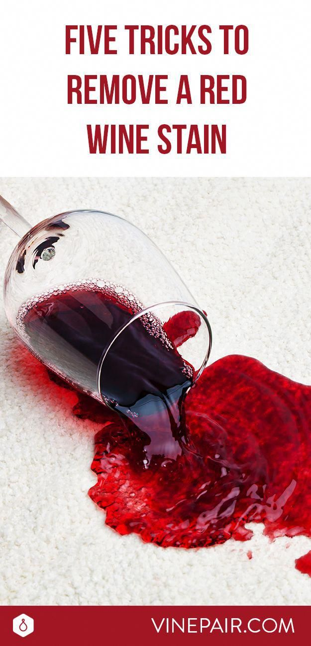 5 Ways To Remove A Red Wine Stain Red Wine Stains Wine Stains Red Wine Stain Removal