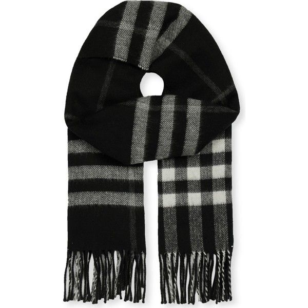 Burberry Giant check cashmere-blend metallic reversible scarf ($410) ❤ liked on Polyvore featuring accessories, scarves, checkered scarves, burberry shawl, metallic scarves, metallic shawl and burberry scarves