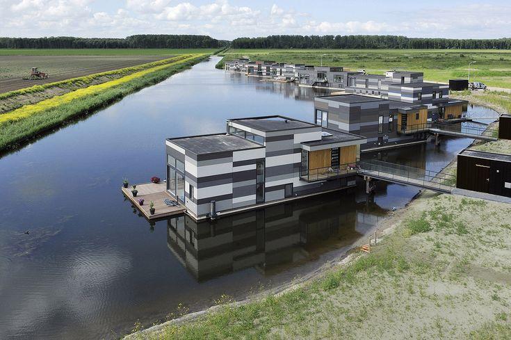 Galeria de Casas Flutuantes em Lelystad / Attika Architekten - 1