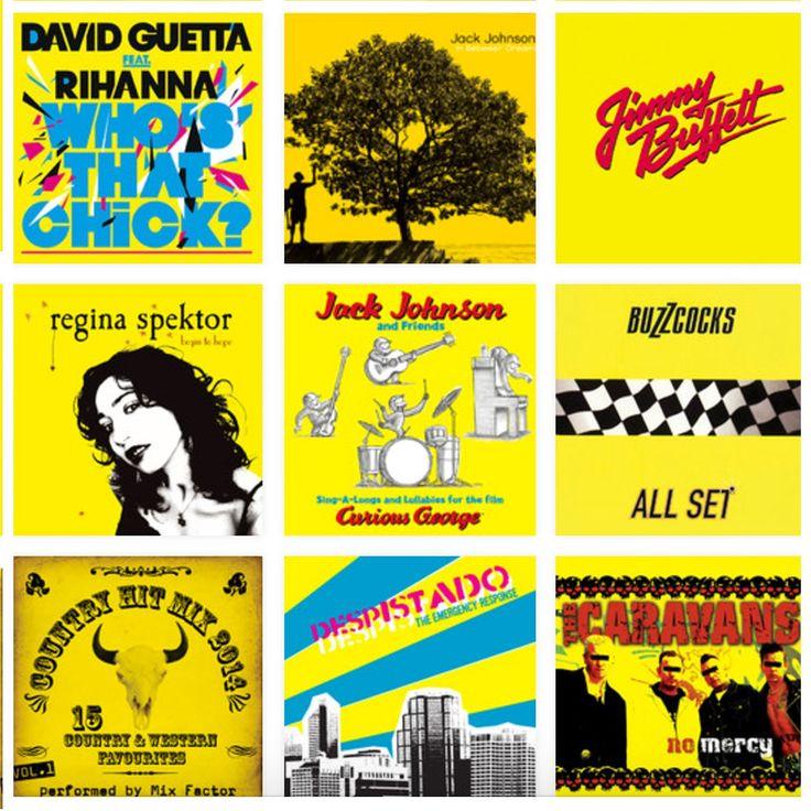En lo más fffres.co: Predominantly: elige un color y pulsa play: La música digital ha matado la magia de elegir un disco por su portada sin…