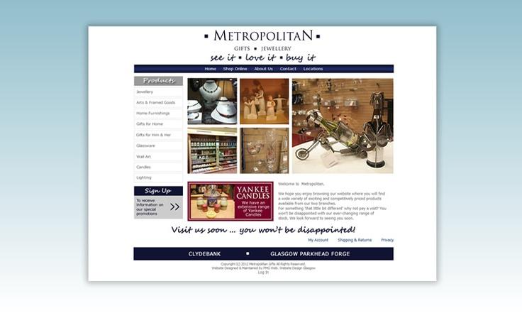 Metropolitan Gifts, Glasgow