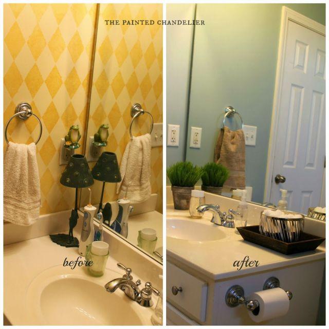Teen Boys' Bathroom Makeover