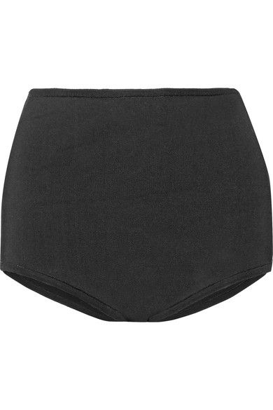 Balmain - Stretch-knit Shorts - Black - FR42