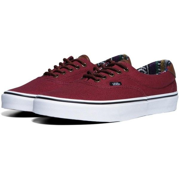 Vans Ethnic Guate Lined Era 59 ($87) ❤ liked on Polyvore