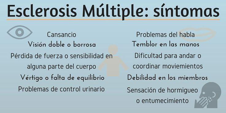 Esclerosis múltiple síntomas