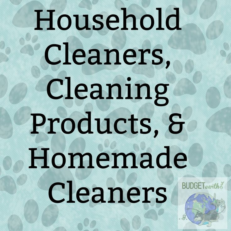 40 Best Images About Household Cleaners Cleaning Products