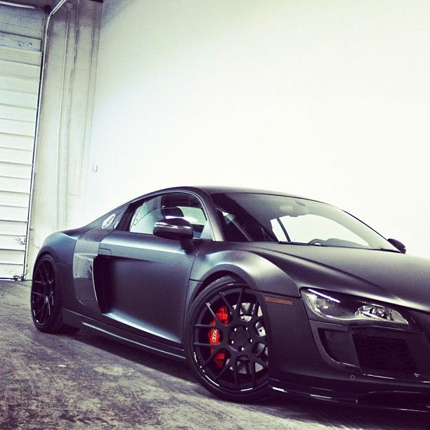 Stunning Audi R8 love the red brakes