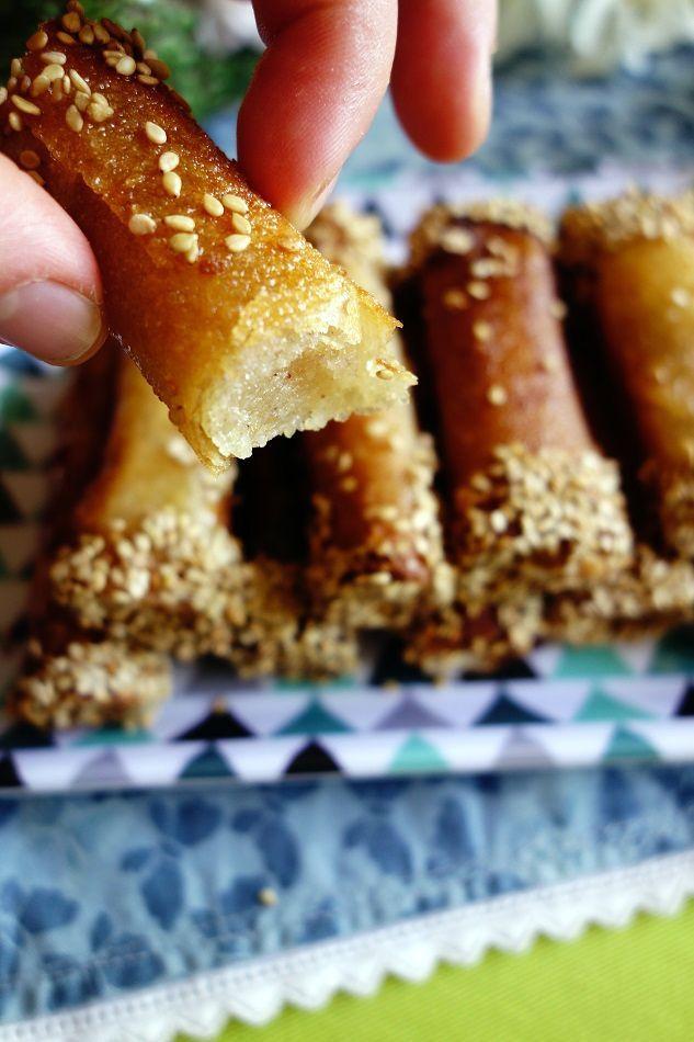 Cigares aux amandes | Roquette Rollmops
