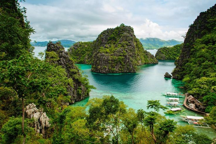 Coron, Busuanga Island, Palawan Province in the Philippines