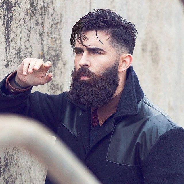 Bearded men style - photo#17