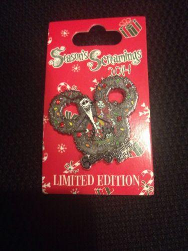 Disney-Pin-Seasons-Screaming-2014-Jack-And-Sally-Pin