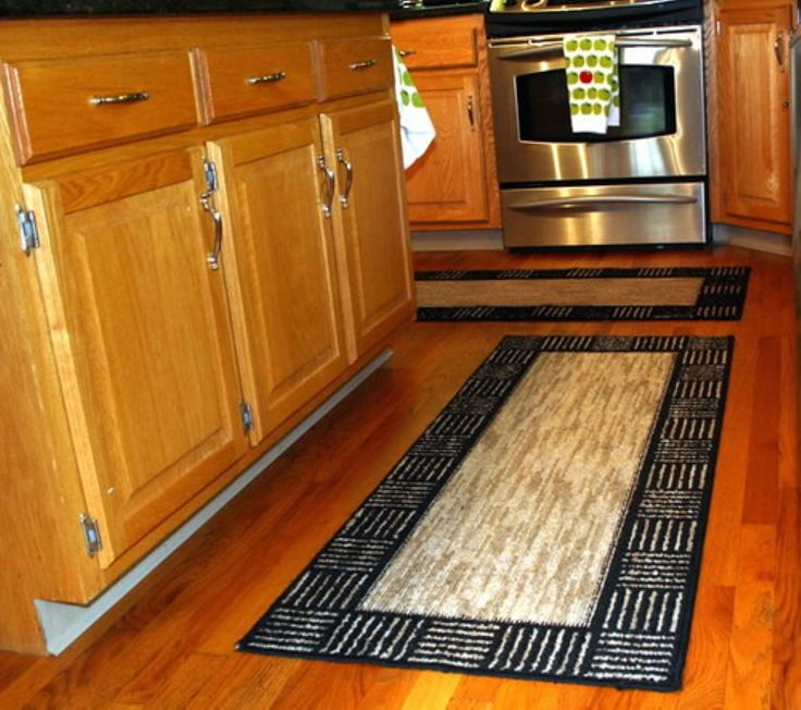 Small Black And White Kitchen Runner Rug