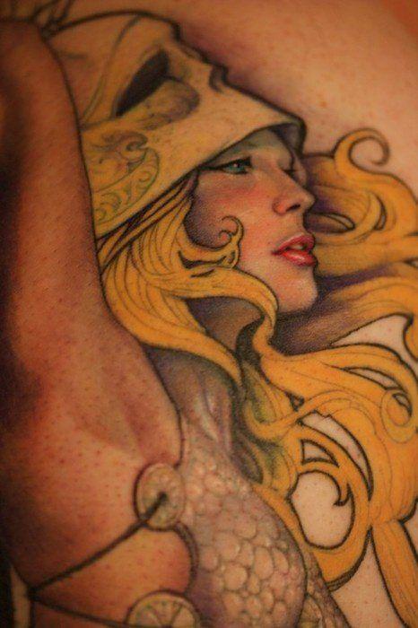 66 best tattoo artist jeff gogue images on pinterest for Greek sculpture tattoo