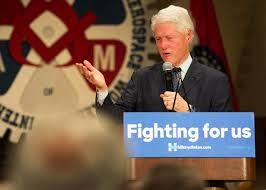 Bill Clinton is married to Hillary Clinton, who served as United States Secretary of State from 2009 to 2013, who was a Senator from New York from 2001 to 2009, and who was the Democratic nominee for President of the United States in 2016.
