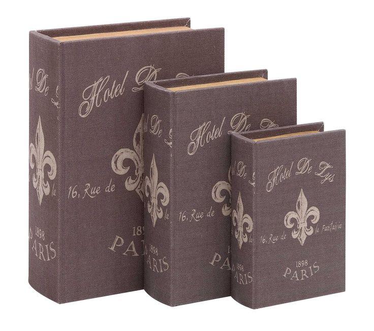 Book Box Set With Paris Hotel Theme
